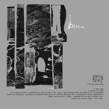 Drahla Faux Text Rough Trade
