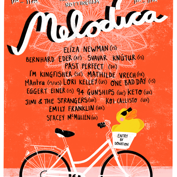 Melodica festival leftlion ad 2018