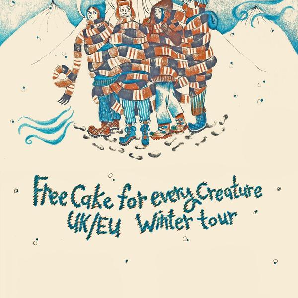 Free cake winter tour blank