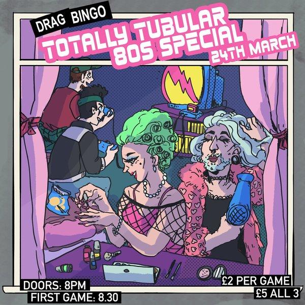 80s bingo insta