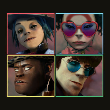 Gorillaz humanz album cover art