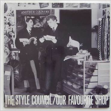 The Style Council , Our Favourite Shop , LP
