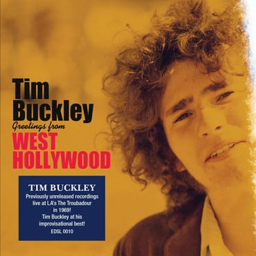 Edsl0010 tim buckley greetings from west hollywood packshot with sticker