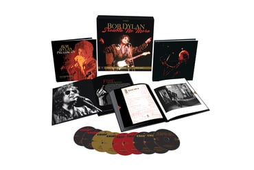 Dylan trouble no more  deluxe edition package shot
