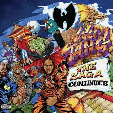 Wu Tang Clan The Saga Continues Lpx2 Rough Trade
