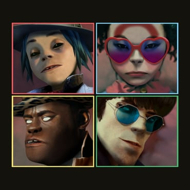 Gorillaz black friday lp