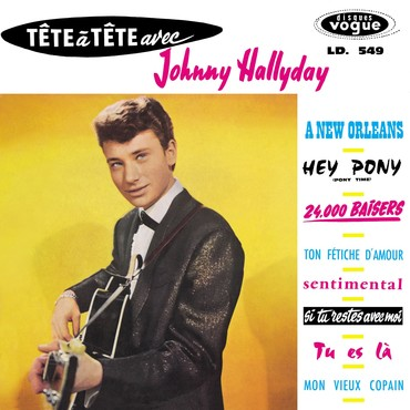 Johnny hallyday tete a tete