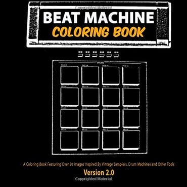 Beat machine coloring book
