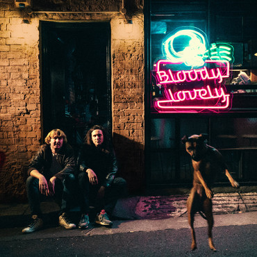 Dz deathrays bloody lovely album art