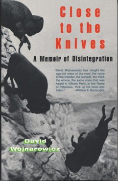 David close to the knives