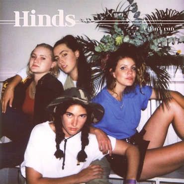 Hinds   i don't run   lucky116cd   small