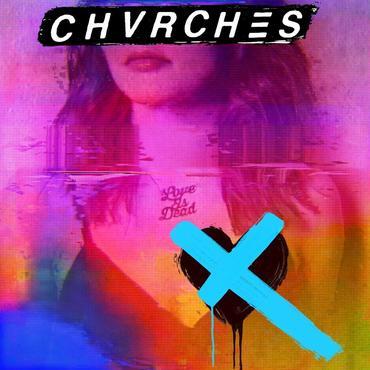 Chvrches album cover 1.10.18