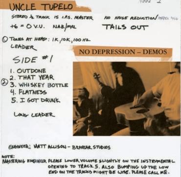 Uncle tupelo no depression demo rsd clean