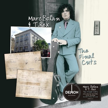 Demrec247 marc bolan final cuts 3000 sticker