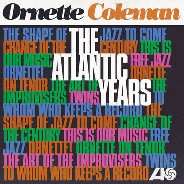 Ornette coleman the atlantic years