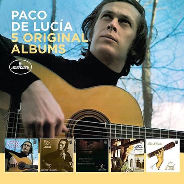 Paco de lucia 5 original albums