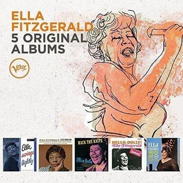 Ella fitzgerals 5 original albums