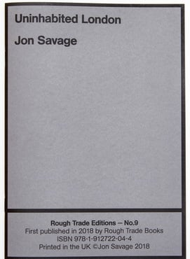 9   savage   rough trade books pamphlet 104
