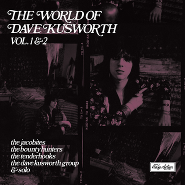 Dave kusworth world of dave kusworth lp front