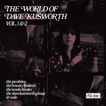 Dave kusworth world of dave kusworth lp front