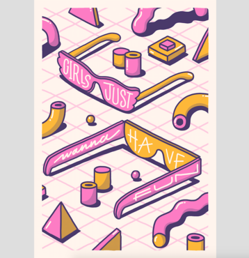 103a64c731 It s Pop It s Art - Girls Just Wanna Have Fun – Rough Trade