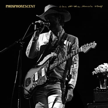 Phosphorescent live at the music