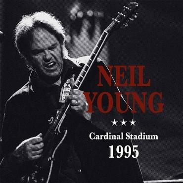 Neil young cardinal stadium 1995 double lp gatefold 72221 1