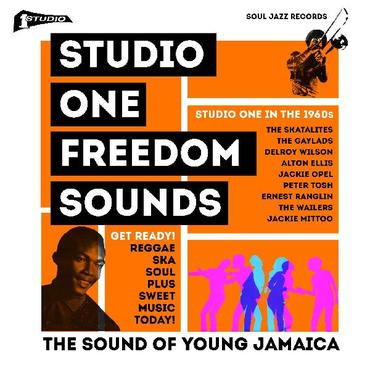 Soul jazz records studio one   freedom sounds   studio one in the 1960s