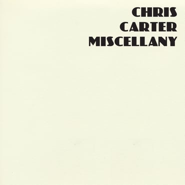 Chris carter miscellany front cover