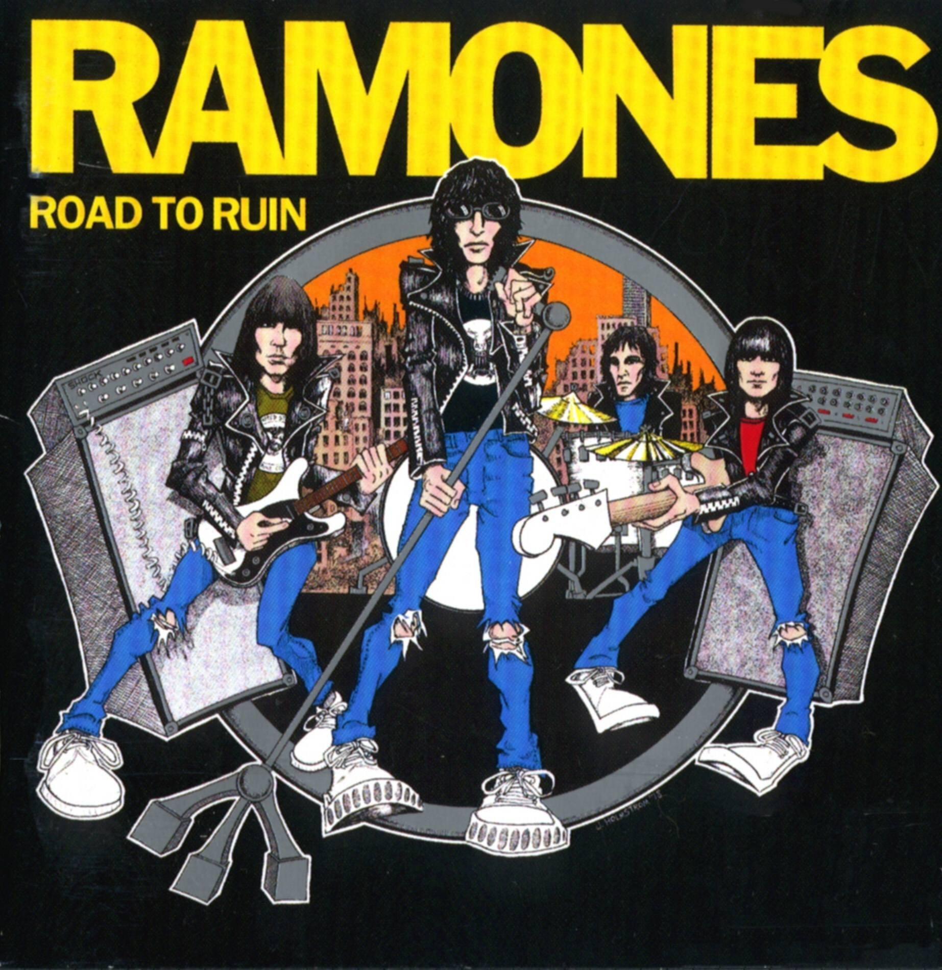 Ramones - Road to Ruin - CD – Rough Trade