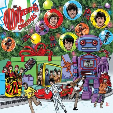 The monkees christmas party album 701x701