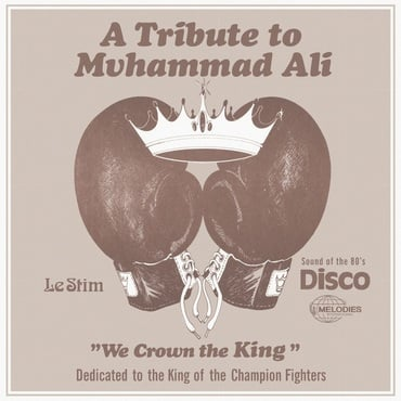 Le stim   tribute to muhammad ali %28we crown the king%29   mel013