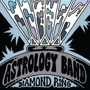 Astrology band diamond ring dream world