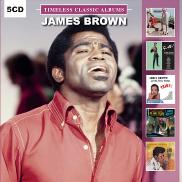 James brown    timeless classic albums   dolcd0195   0889397000332   fl