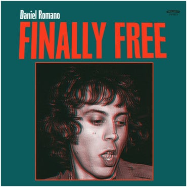 Daniel romano   finally free   cover 3600 border