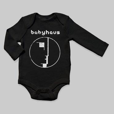Babyteith babyhaus bodysuit baby black longsleeve 1024x1024