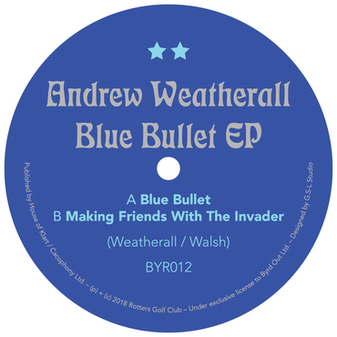 Andrew weatherall byr011 a side label