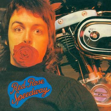 Paul mccartney and wings   red rose speedway   original cover art