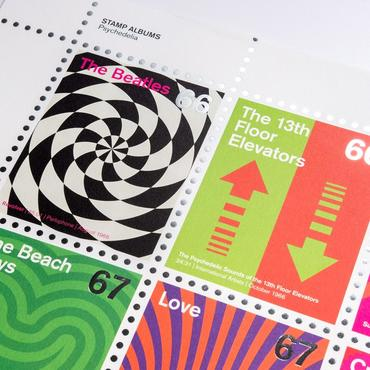 Stamp Albums - Psychedelic - Posters / Prints – Rough Trade