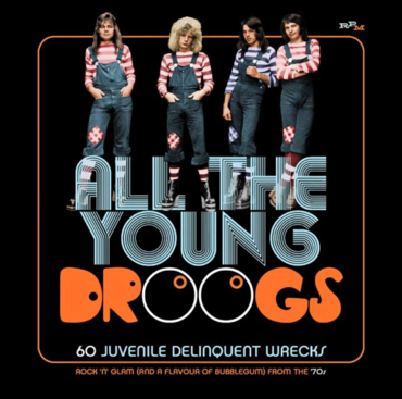 Various - All the Young Droogs - 60 Juvenile Delinquent Wrecks - Rock 'n'  Glam (And a Flavour of Bubblegum) From the 70s - CDx3