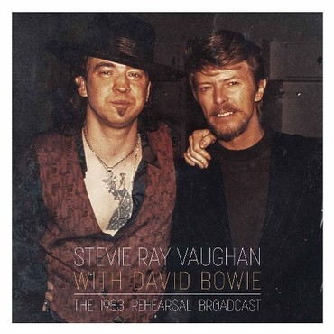 Stevie ray vaughan with david bowie the 1983 rehearsal broadcast double lp gatefold coloured 76939 1