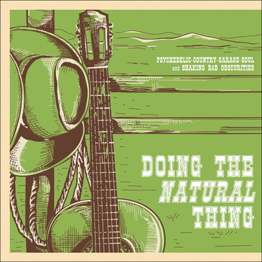Various artists doing the natural thing psychedelic country garage soul