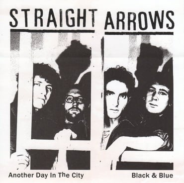 Straight arrows anohter day in the city sleeve