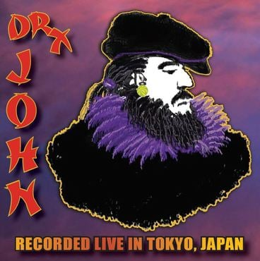 Dr john   live in japan lp