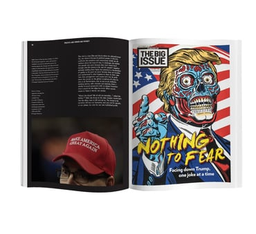 They live book spread 9