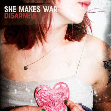 She makes war