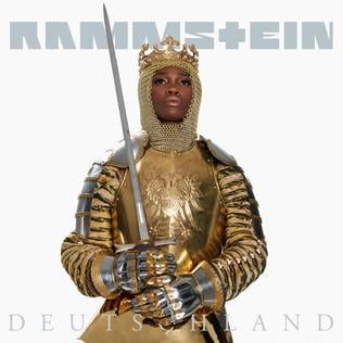 Rammsteindeutschlandsinglecover