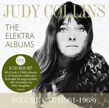Edsl0028 judy collins elektra albums vol 1 packshot with sticker