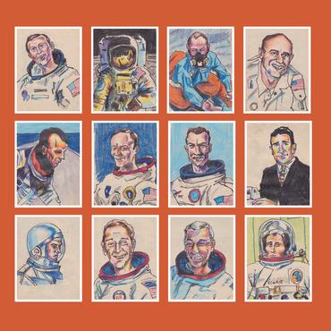 Darren hayman   12 astronauts