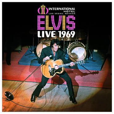 Elvis live 1969 box set cover art